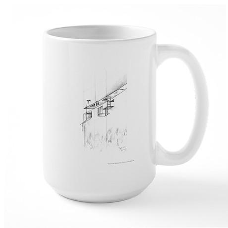 Fire Escape Large Mug