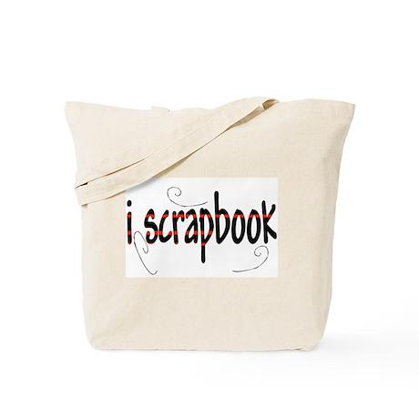I Scrapbook Tote Bag