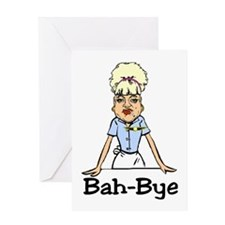 Bah-Bye Greeting Card