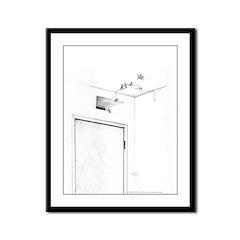 Exit Framed Panel Print