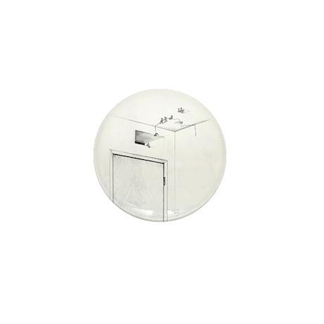Exit Mini Button (100 pack)