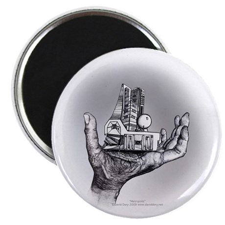 "Over and Under 2.25"" Magnet (10 pack)"