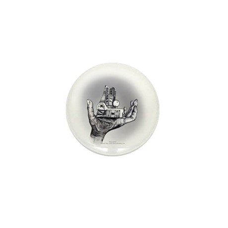 Over and Under Mini Button (100 pack)