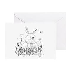 Rabbit Greeting Cards (Pk of 10)