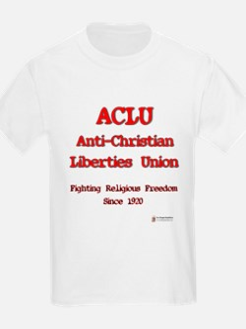 ACLU Anti Christian T-Shirt
