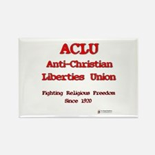 ACLU Anti Christian Rectangle Magnet