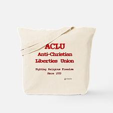 ACLU Anti Christian Tote Bag