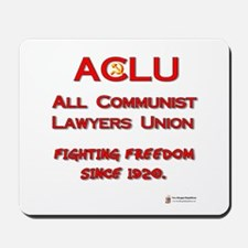 ACLU All Communist Mousepad