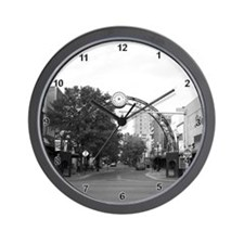 Funny Black and white photo Wall Clock