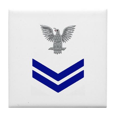 PO 2nd Blue Tile Coaster