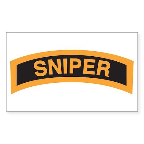 Sniper Tab Rectangle Sticker