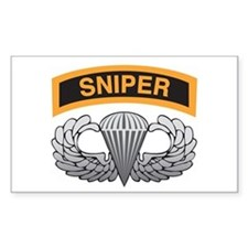Sniper Tab with Basic Airborn Rectangle Decal