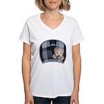 Mini Driver Women's V-Neck T-Shirt