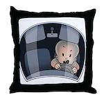 Mini Driver Throw Pillow