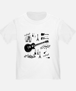 Guitar Collage T