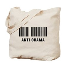 Barcode Anti Obama Tote Bag