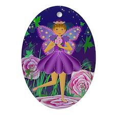 Fairy Princess OrnamentOval Ornament