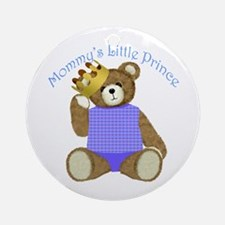Mommy's Little Prince Ornament (Round)