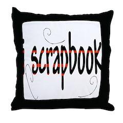 I Scrapbook Throw Pillow