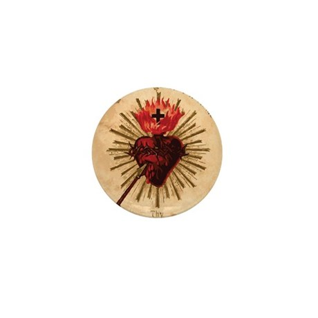 Sacred Heart of Jesus Mini Button (100 pack)