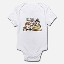 New Mexico Map Infant Bodysuit