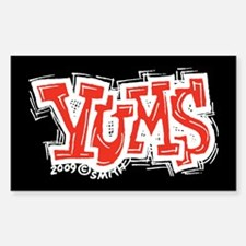 Yums Decal