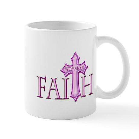 Woman of Faith Mug
