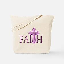 Woman of Faith Tote Bag