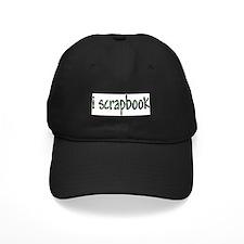 I Scrapbook Baseball Hat