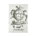 Freethinker Rectangle Magnet (100 pack)