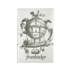 Freethinker Rectangle Magnet (100 pack)
