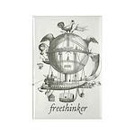 Freethinker Rectangle Magnet (10 pack)
