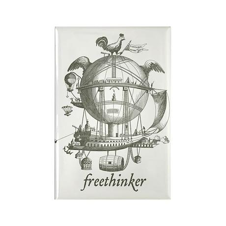 Freethinker Rectangle Magnet