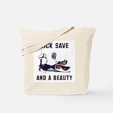 Kick Save Tote Bag