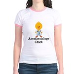 Anesthesiology Chick Jr. Ringer T-Shirt