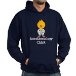 Anesthesiology Chick Hoodie (dark)