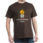 Anesthesiology Chick Dark T-Shirt