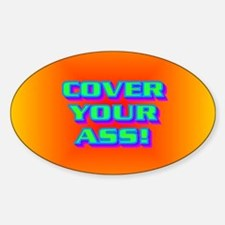 COVER YOUR ASS! Decal