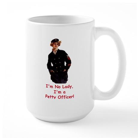 Lady Petty Officer Large Mug