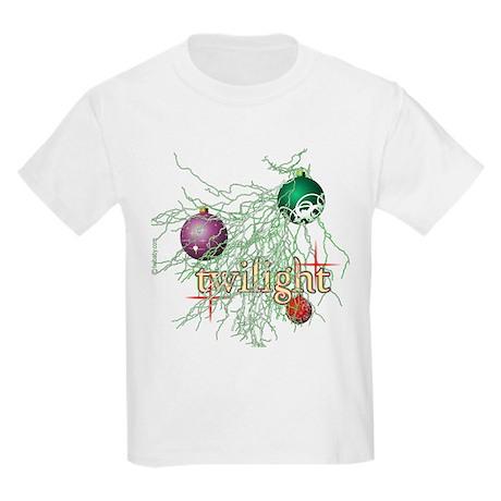Twilight Christmas Kids Light T-Shirt