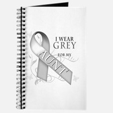 I Wear Grey for my Aunt Journal