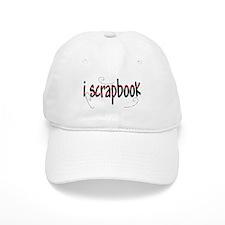 I Scrapbook Baseball Cap