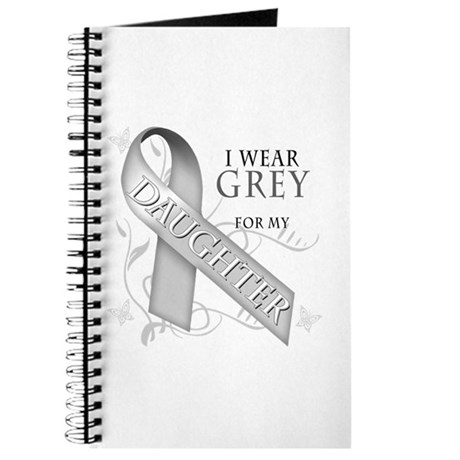 I Wear Grey for my Daughter Journal