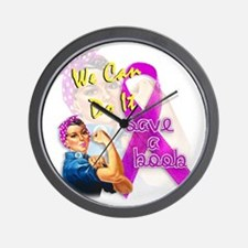 Save A Boob Breast Cancer Awareness Wall Clock