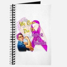 Save A Boob Breast Cancer Awareness Journal