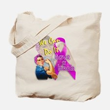 Save A Boob Breast Cancer Awareness Tote Bag