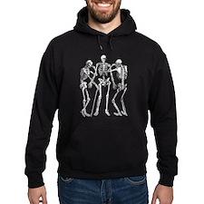 3 skeletons Hoodie