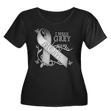 I Wear Grey for my Mom T