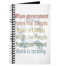 Jefferson Tyranny Quote Journal