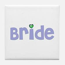 Bride Tile Coaster